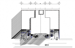 Isometric house plan detail dwg file