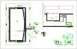 Jacuzzi plan view design layout