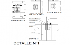 Joint detail dwg file