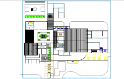 Juice processing plant detail dwg file
