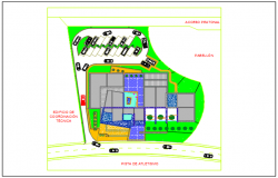 Key plan detail dwg file