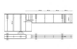 Kitchen Furniture Design CAD Elevation Plan