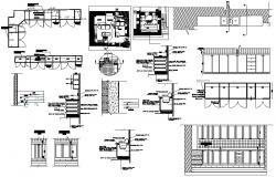 Kitchen Interior Design AutoCAD File