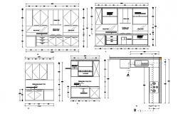 Kitchen Interior Design DWG File