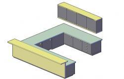 Kitchen Models 3d CAD file