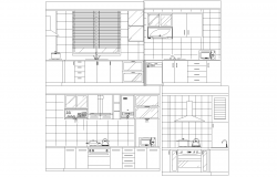 Kitchen plan detail dwg.