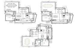 Kitchen structure detailing 2d view CAD block layout autocad file
