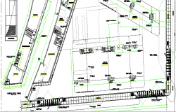 LPG Gas Distribution Center Architecture layout Plan dwg file