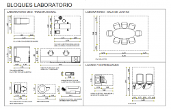 Laboratory Furniture Hospital Block Design
