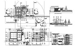 Laced derived industrial plant detailed architecture project dwg file
