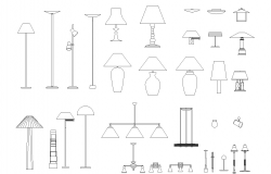 Lamp plan detail dwg.