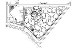 Landscape Area CAD File