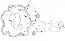 Landscape Design Plans CAD File Download