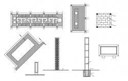 Landscape Work Design AutoCAD File Free Download