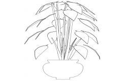 Landscaping Plants Free CAD Blocks Download