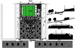 Landscaping designs & Sport center