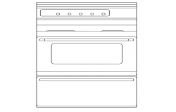 Latest washing machine cad block design dwg file