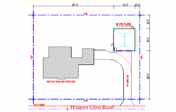 Lay-out plot Plan Detail in DWG File