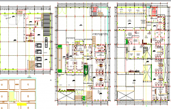 Layout Plan of City Auditorium Hall Architecture Project dwg file