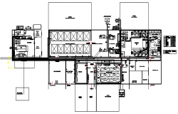 Layout design of Complete egg processing plant design drawing