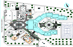 Layout detail dwg file