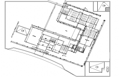 Layout plan detail dwg file