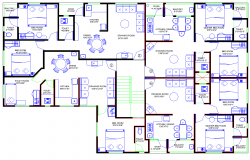 Layout plan of Apartment