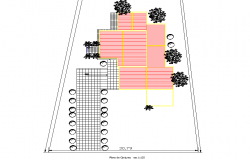 Layout plot detail