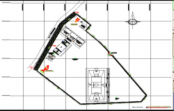 Layout plot detail dwg file