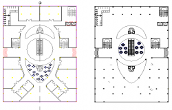 Layout plot dwg file