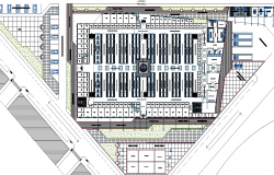 Layout plot market dwg file