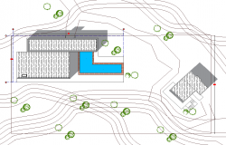 Layout plot plan detail dwg file