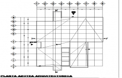 Layout working plan detail dwg file