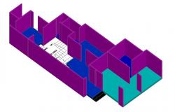 Learn AutoCAD 3D House Drawing