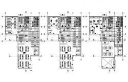 Library Interior Design Planning