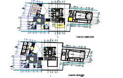 Library plan autocad file