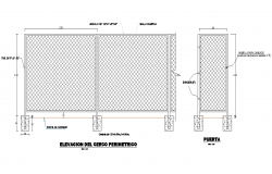 Lifting fence permethric autocad file