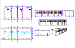 Lightened structures improvement plan dwg file