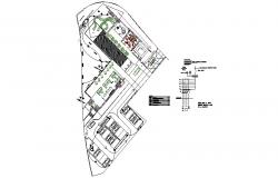 Lighting club house distribution plan cad drawing details dwg file
