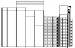 Llyod Building London Architecture Layout dwg file