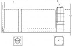 Load Bearing Structure AutoCAD Drawing Download