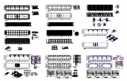 Local Commercial Building Detail in DWG file