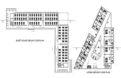 Lodge Floor Plan CAD File Download