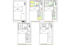 Lodging house plan layout file