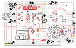 Luxurious House layout plan