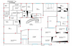 Luxurious Layout plan dwg file