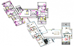 Luxurious Residence Layout plan