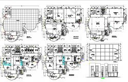 Luxurious Residential Project dwg file