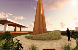MONUMENT DESIGN WITH RENDER PIC AND SKETUP FILE