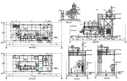 Machine design CAD Drawing download
